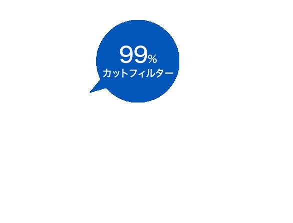 99%カットフィルター